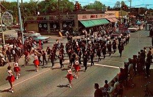 Michigan Hazel Park Junior High School Band Memorial Day Parade 29 May 1966
