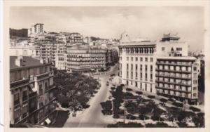 Algeria Alger Square Laferriere Real Photo