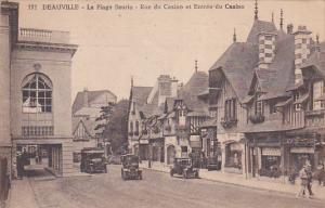 DEAUVILLE , France , PU-1923 ; Rue du Casino