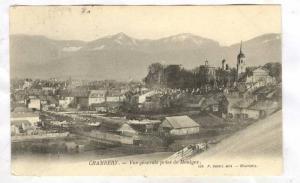 Vue Generale Prise De Montgex, Chambery (Savoie), France, PU-1908