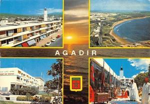 Morocco Agadir Vuew panoramique La plage Banque du Maroc Artisanat