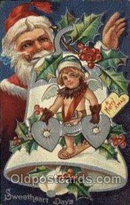 Winsch publishing Santa Claus 1910 light corner wear, close to grade 2, posta...