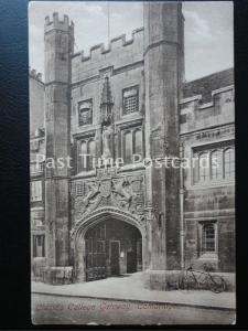 c1910 - Christ's College Gateway, Cambridge