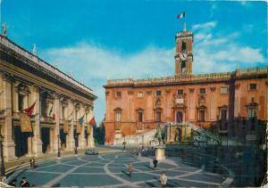 Italy Capitol Rome clock tower