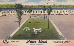 AUSTIN , MInnesoata , PU-1958 ; Miller Motel