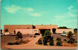 Roswell, New Mexico Postcard ROSWELL FAMILY YMCA - Sunset & Alameda c1950s