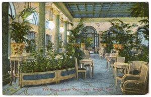 Boston, Mass, Tea Room, Copley Plaza Hotel