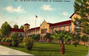 Florida St Petersburg The Million Dollar High School 1948
