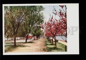 075484 CHINA Sihu in spring Boti dam Old PC