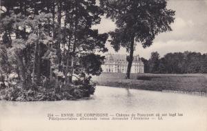 Chateau De Francport Ou Ont Loge Les Plenipotentiaires Allemands Venus Demand...