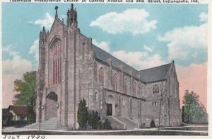 INDIANAPOLIS , Indiana , 1910s ; Tabernacle Presbyterian Church