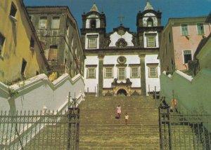 Salvador Passos Church Brazil Postcard