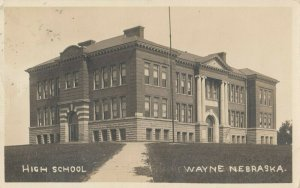RP: WAYNE, Nebraska , 1913 ; High School
