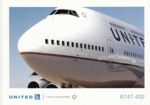 UNITED B747-400 Jet Airplane , 80-90s