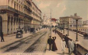 Algeria Alger Boulevard de la Republique