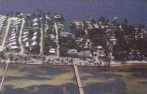 Florida Bokeelia Aerial View Crab Shack Restaurant &  Gift Shop Aerial View