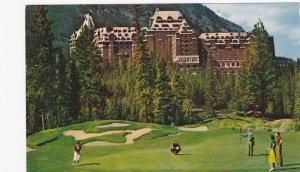 Golf Course, 18th green , BANFF , Alberta , Canada , 50-60s