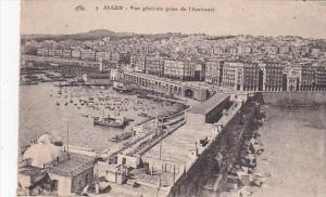 Algeria Alger Vue generale prise de l'Amiraute 1925