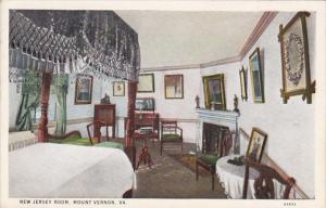 Virginia Mount Vernon New Jersey Room Curteich