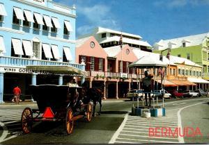 Bermuda Hamilton Front Street Shopping Area
