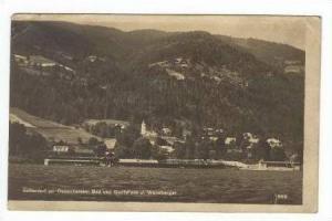 RP  Sattendorf am Ossiachersee, Bad und Bottshaus J. Weneberger,, Austria, PU...