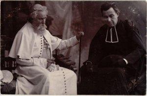 CPA Hongrie THEATRE Star Gaál Gyula & Pethes Imre carte photo (93858)