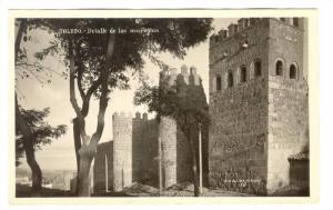 RP: Toledo , Spain, 1910s ; Detalle de la murallas