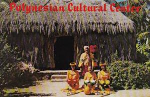 Hawaii Oahu Polynesian Cultural Center 1975