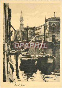 Modern Postcard Chioggia - Canal Vena Charter