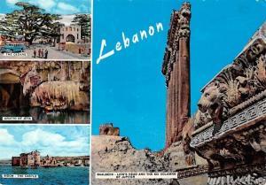 Lebanon multiviews Sidon The Castle Baalbeck The Cedars Grotto of Jitta