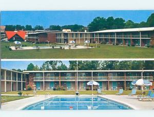 Unused Pre-1980 HOWARD JOHNSON MOTEL Durham North Carolina NC c1519-22