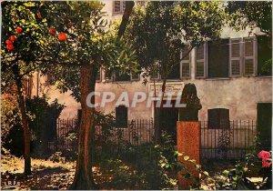 Postcard Charm and colors of Corsica Ajaccio The birthplace of Napoleon
