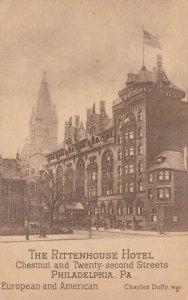 PHILADELPHIA , Pennsylvania , 1915; The Rittenhouse Hotel