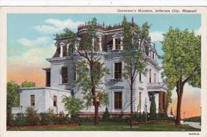 Missouri Jefferson City The Governor's Mansion Curteich
