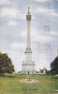 Canada Niagara Falls Brock's Monument 1910