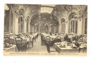 REIMS , France, 00-10s ; Salon-Restaurant DEGERMANN