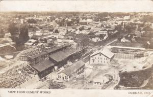RP: Panorama view from Cement Works , DURHAM , Ontario , Canada , 00-10s