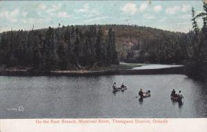 TEMAGAMI DISTRICT, Ontario, Canada, PU-1907; On The East Branch, Montreal Riv...