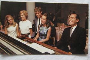 Richard Nixon Campaign Postcard Polls Don't Vote People Do