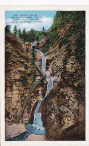 Colorado Colorado Springs Seven Falls South Cheyenne Canon Above Stratton Park