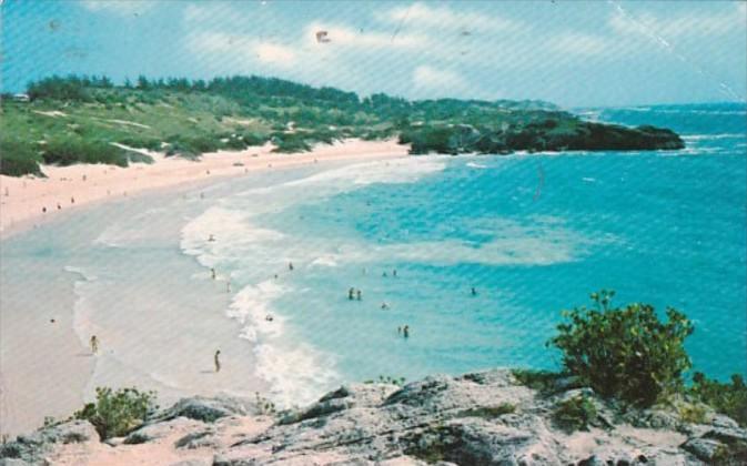 Bermuda Horseshoe Bay Public Beach 1977