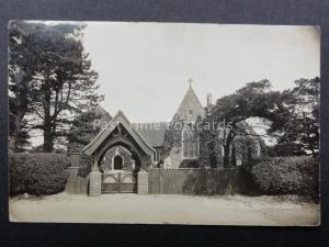 Suffolk: Old Felixstowe Church of St Peter & St Paul - Old RP Postcard