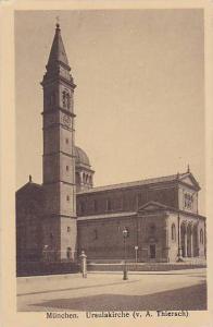 Ursulakirche (V. A. Thiersch), Bavaria, Germany, 1900-1910s