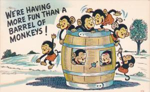 Humour We're Having More Fun Than A Barrel Of Monkeys 1970