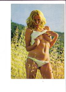 Nude, Blonde Woman, Kruger, Made in Western Germany