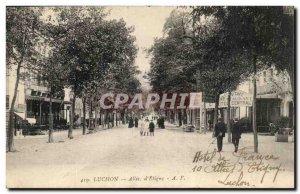Luchon - Alee d & # 39Etigny - Old Postcard