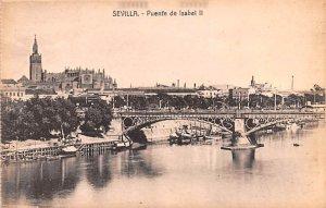 Puente de Isabel II Sevilla Spain Unused
