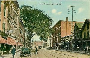 ME, Auburn, Maine, Court Street, H.R. Tarr & Company