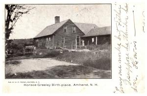New Hampshire Amherst , Horace Greeley Birthplace