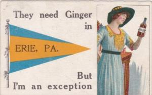 Pennant Series Humour They Need Ginger In Erie Pennsylvania 1913